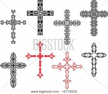 Vector Christian Cross Design