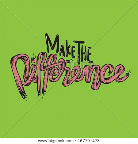 Make The Difference Ambition Breakthough