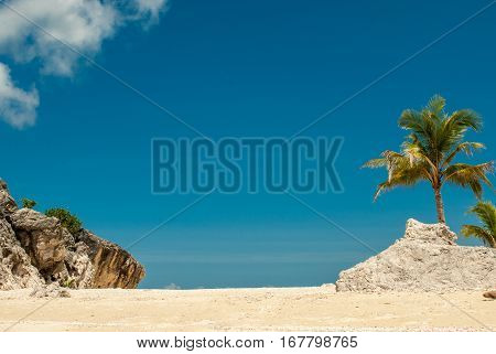 Paradise on remote tropical island, Gigantes Islands, Panay, Philippines