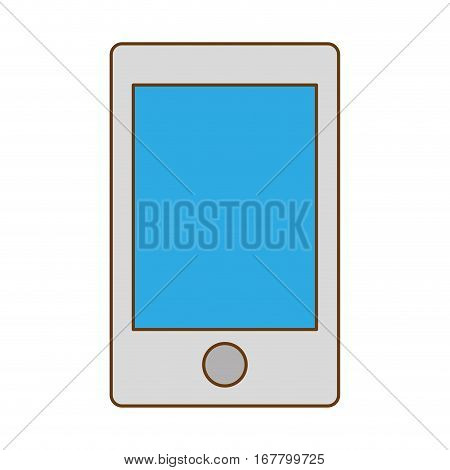 optimization and tuning smartphone database icon, vector illustration