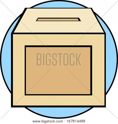 empty ballot box