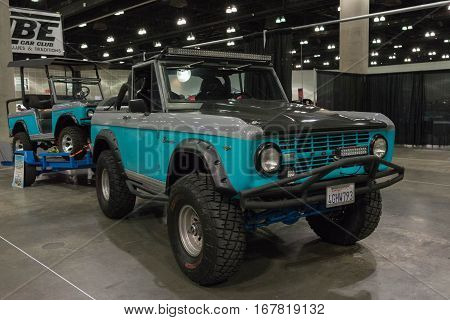 Ford Bronco And Golf Cart