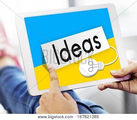 Fresh Ideas Imagination Inspiration Concept