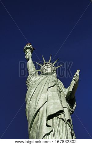 The Statue of Liberty is a colossal copper statue designed by Auguste Bartholdi a French sculptor was built by Gustave Eiffel