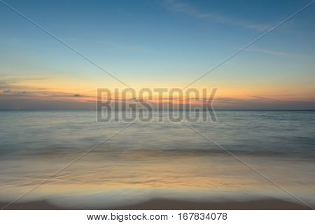 Landscape from Phuket View Point at Surin Beach Located in Phuket Province Thailand.