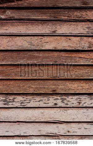 Grunge wooden wall used as background, For abstract background.