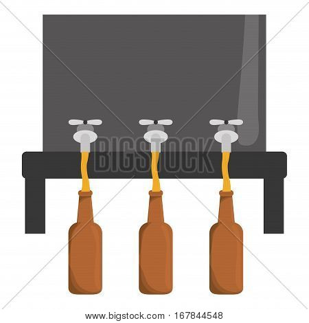 beer dispensers icon image design, vector illustration