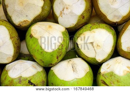 Coconut fuits background