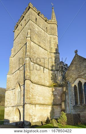 St Mary The Virgin Church Tower Hawkesbury South Gloucestershire