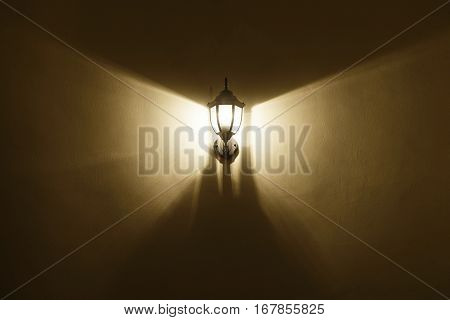 Light From Wall Lamp