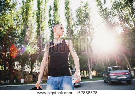 Hip Hop Teenage Man