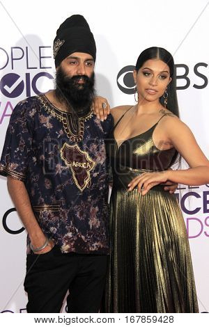 LOS ANGELES - JAN 18:  Guest, Lilly Singh at the People's Choice Awards 2017 at Microsoft Theater on January 18, 2017 in Los Angeles, CA