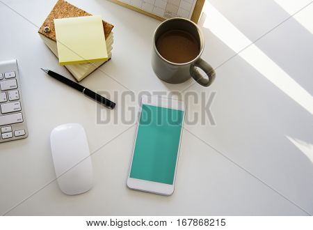Objects Equipment Stationary Mousepad Keyboard