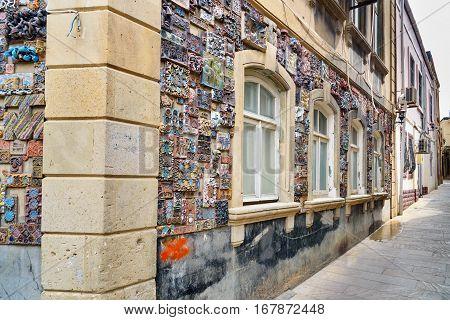 Building In Old City, Icheri Sheher. Baku