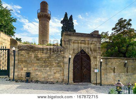 Street In Old City, Icheri Shehe. Baku