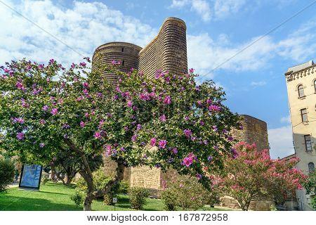 Maiden Tower In Old City, Icheri Sheher. Baku