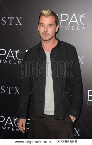LOS ANGELES - JAN 17:  Gavin Rossdale at the