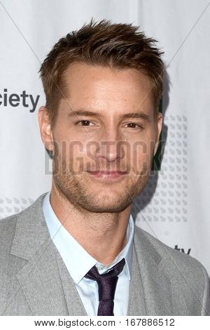 LOS ANGELES - JAN 19:  Justin Hartley at the 2017 Artios Awards at Beverly Hilton Hotel on January 19, 2017 in Beverly Hills, CA