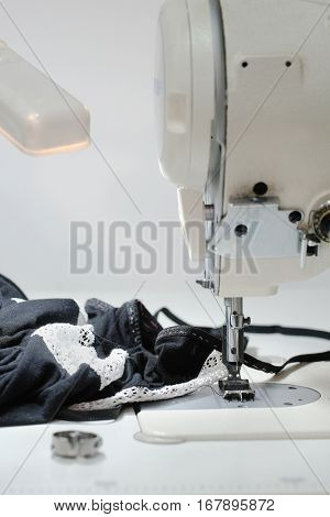 The image of sewing machine