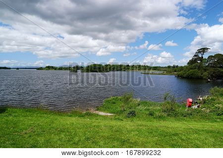 Lough Leane in Killarney National Park is the biggest of all Killarney lakes.County kerryireland