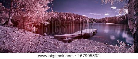 Fantasy Lake Panorama