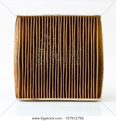 Dirty Car Air Flow Filter