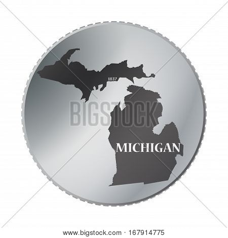 Michigan State Coin
