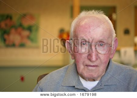 Nursing Home Portrait (Serious Look)