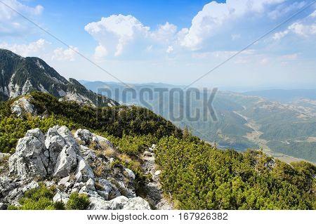 Mountain Hiking In Europe
