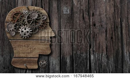 brain function, psychology, memory, invention or mental activity concept