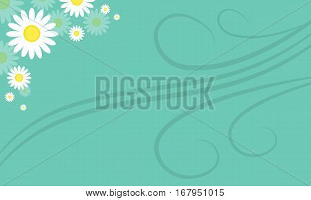 Background of spring style collection stock illustration