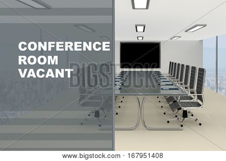 Conference Room Vacant Concept