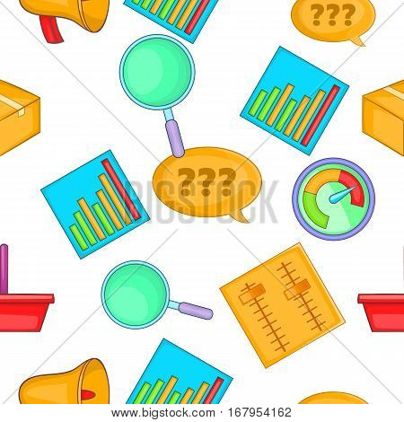 Statistical evidence pattern. Cartoon illustration of statistical evidence vector pattern for web