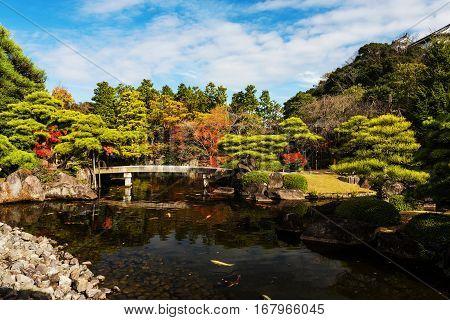 Koko-en Autumn Garden, Humeji