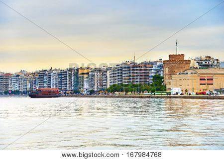 Thessaloniki Cityscape, Greece