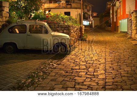 Ochrid Old Town Street, Macedonia
