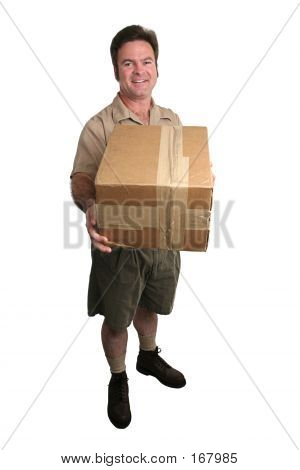 Delivery Man - Full View