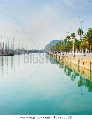 Barcelona Port Vell, Spain