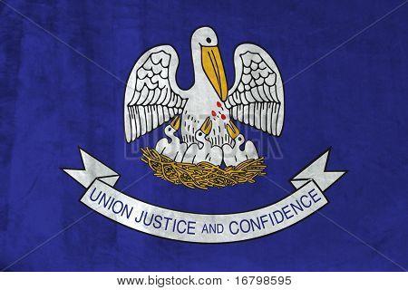 Grunge Flag of Louisiana