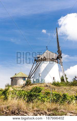 windmill in Retz, Lower Austria, Austria