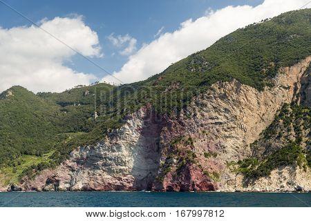 The Rugged Coastline Of The Cinque Terre