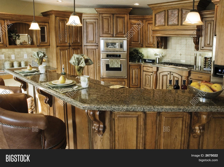 Classy Kitchen Image Photo Free Trial Bigstock