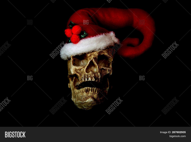 Evil Christmas.Evil Christmas Skull Image Photo Free Trial Bigstock