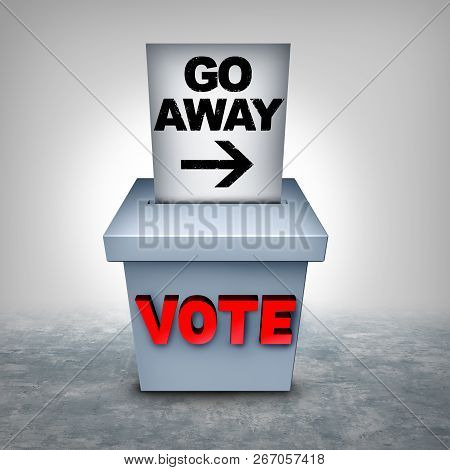 Voter Suppression And Vote Disenfranchisement To Influence The Outcome Of An Election As A Revocatio