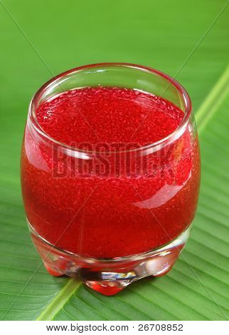 Juice of isabgol with some medicinal herbs