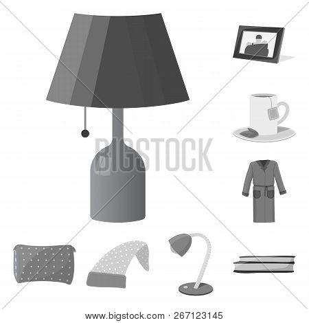 Vector Design Of Dreams And Night Icon. Collection Of Dreams And Bedroom Stock Vector Illustration.