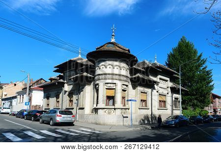 Drobeta Turnu Severin, Romania - 10.08.2018:old House Landmark Architecture