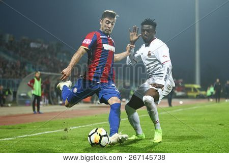 Velika Gorica, Croatia - 4th November 2018 : The First Football Croatian League Hrvatski Telekom, Fo
