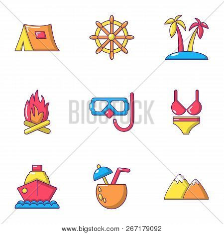 Breakout Icons Set. Flat Set Of 9 Breakout Vector Icons For Web Isolated On White Background
