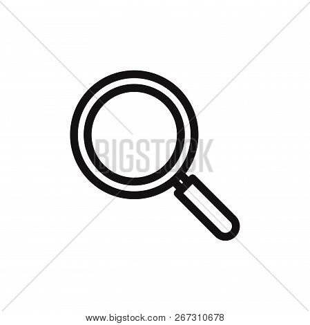 Search Icon Isolated On White Background. Search Icon In Trendy Design Style. Search Vector Icon Mod